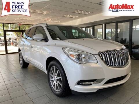 2017 Buick Enclave for sale at Auto Max in Hollywood FL