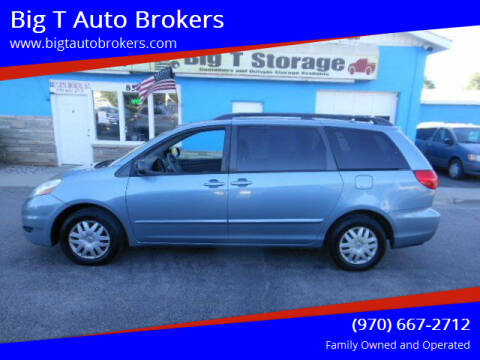 2009 Toyota Sienna for sale at Big T Auto Brokers in Loveland CO