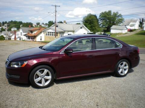 2013 Volkswagen Passat for sale at Starrs Used Cars Inc in Barnesville OH