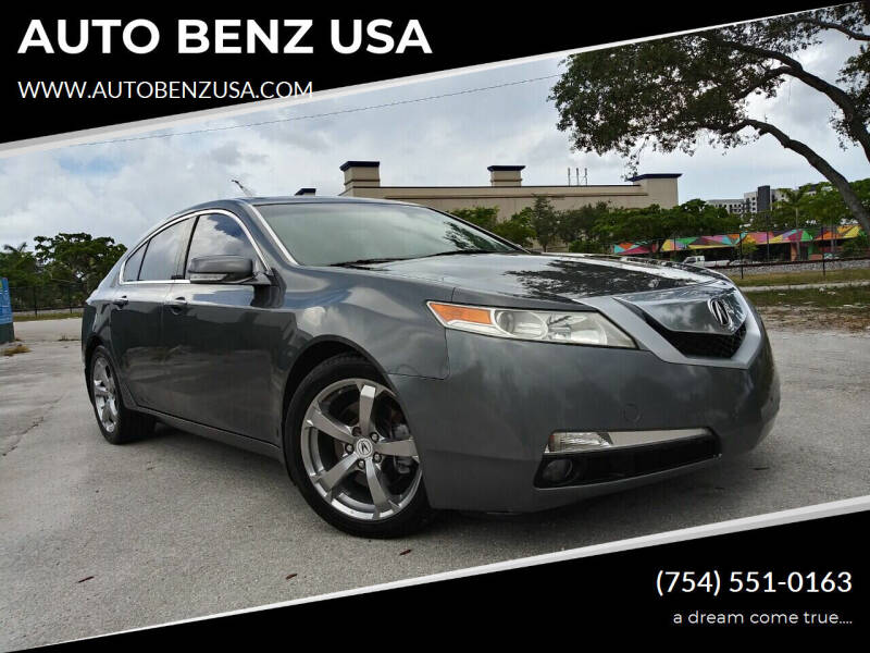 2010 Acura TL for sale at AUTO BENZ USA in Fort Lauderdale FL