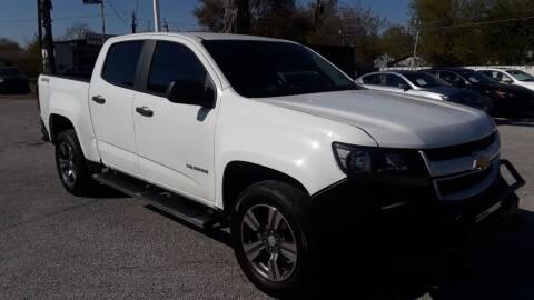 2018 Chevrolet Colorado for sale at RICKY'S AUTOPLEX in San Antonio TX