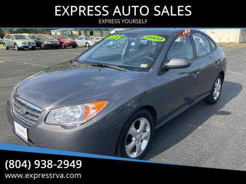 2009 Hyundai Elantra for sale at EXPRESS AUTO SALES in Midlothian VA