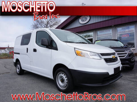 2015 Chevrolet City Express Cargo for sale at Moschetto Bros. Inc in Methuen MA