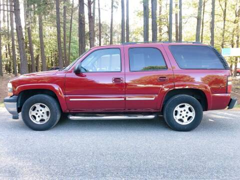 2006 Chevrolet Tahoe for sale at H&C Auto in Oilville VA
