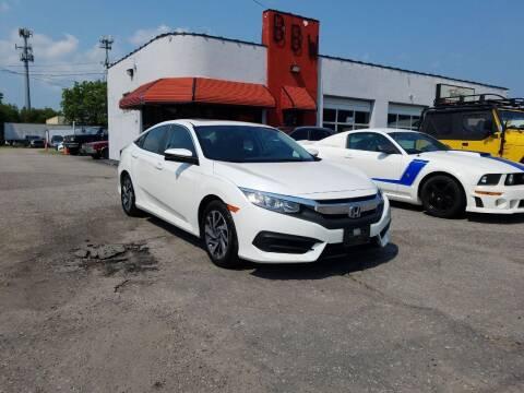2017 Honda Civic for sale at Best Buy Wheels in Virginia Beach VA