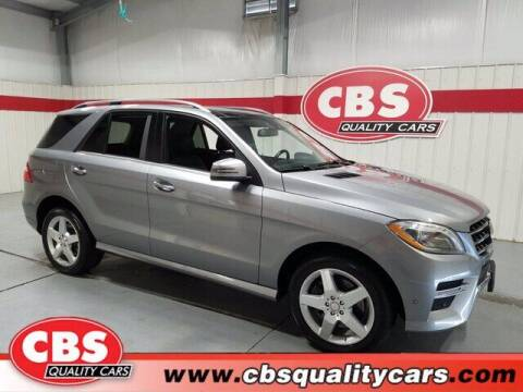 2015 Mercedes-Benz M-Class for sale at CBS Quality Cars in Durham NC