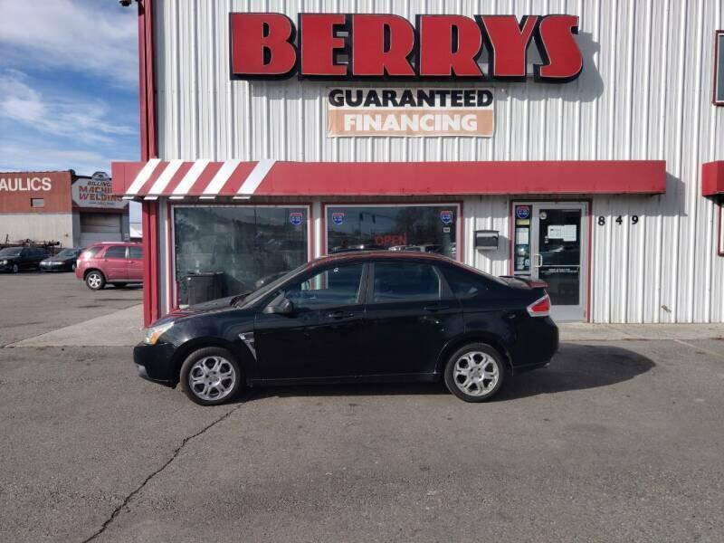 2008 Ford Focus for sale at Berry's Cherries Auto in Billings MT