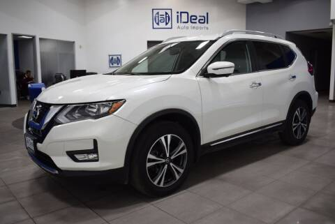 2017 Nissan Rogue for sale at iDeal Auto Imports in Eden Prairie MN