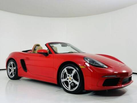 2017 Porsche 718 Boxster for sale at Luxury Auto Collection in Scottsdale AZ