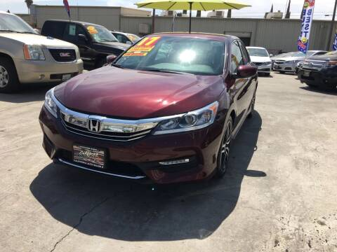 2017 Honda Accord for sale at CALIFORNIA AUTO SALE 2 in Livingston CA