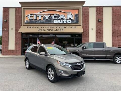 2018 Chevrolet Equinox for sale at CITY CAR AUTO INC in Nashville TN