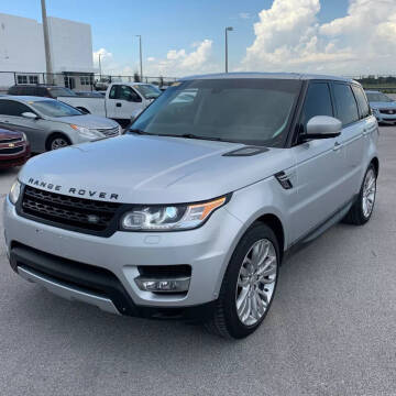 2014 Land Rover Range Rover Sport for sale at 101 MOTORS in Hasbrouck Heights NJ