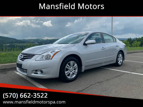 2012 Nissan Altima for sale at Mansfield Motors in Mansfield PA