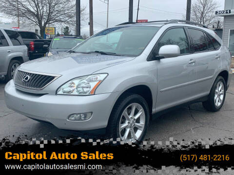 2009 Lexus RX 350 for sale at Capitol Auto Sales in Lansing MI