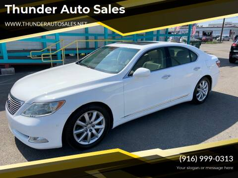 2007 Lexus LS 460 for sale at Thunder Auto Sales in Sacramento CA