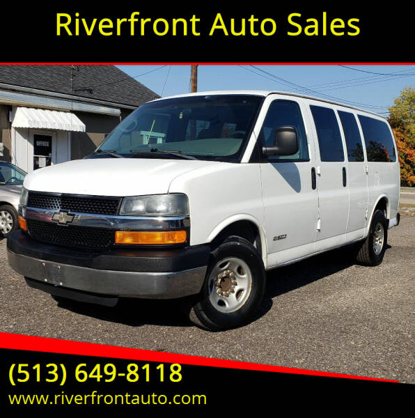 2004 Chevrolet Express Passenger for sale at Riverfront Auto Sales in Middletown OH