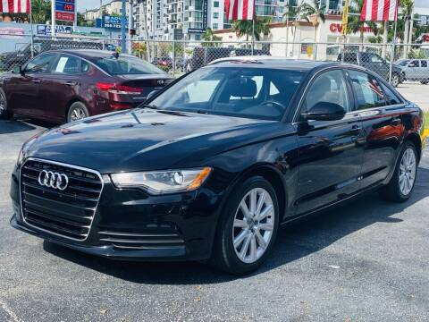 2014 Audi A6 for sale at CHASE MOTOR in Miami FL