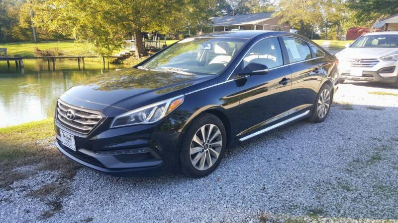 2015 Hyundai Sonata for sale at Victory Auto Sales LLC in Mooreville MS