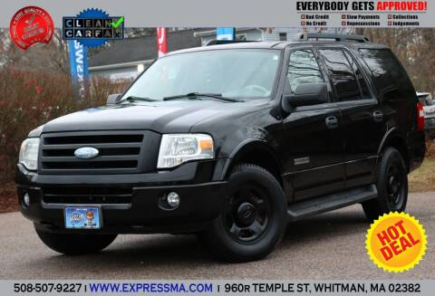 2008 Ford Expedition for sale at Auto Sales Express in Whitman MA