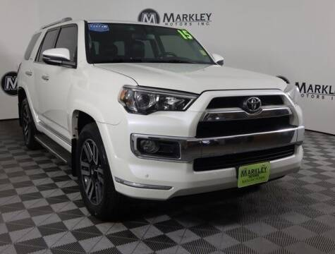 2015 Toyota 4Runner for sale at Markley Motors in Fort Collins CO