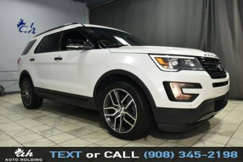 2016 Ford Explorer for sale at AUTO HOLDING in Hillside NJ