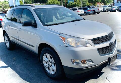 2012 Chevrolet Traverse for sale at RD Motors, Inc in Charlotte NC
