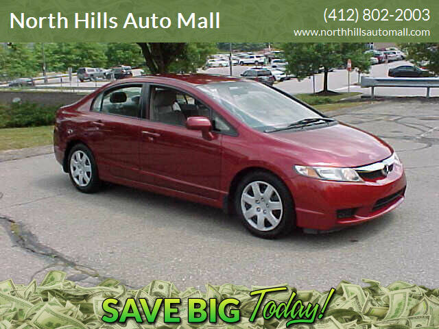 2010 Honda Civic LX 4dr Sedan 5A - Pittsburgh PA