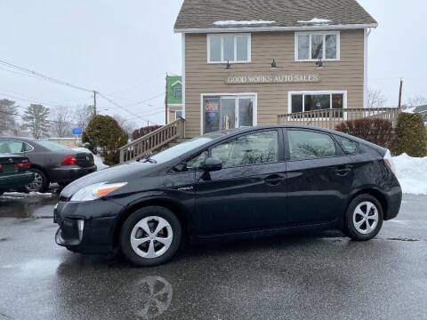 2014 Toyota Prius for sale at Good Works Auto Sales INC in Ashland MA