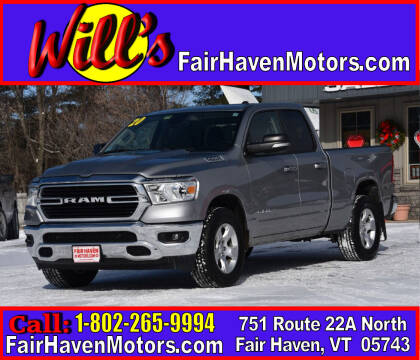 2020 RAM Ram Pickup 1500 for sale at Will's Fair Haven Motors in Fair Haven VT