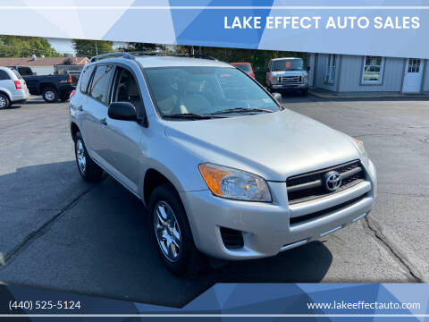 2011 Toyota RAV4 for sale at Lake Effect Auto Sales in Chardon OH