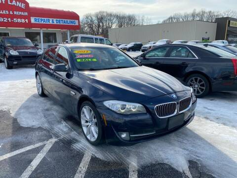 2011 BMW 5 Series for sale at Sandy Lane Auto Sales and Repair in Warwick RI