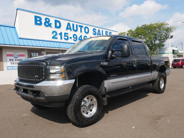 2003 Ford F-350 Super Duty for sale at B & D Auto Sales Inc. in Fairless Hills PA