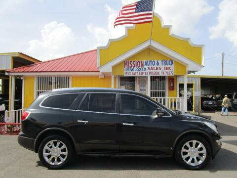 2010 Buick Enclave for sale at Mission Auto & Truck Sales, Inc. in Mission TX