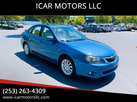 2009 Subaru Impreza for sale at ICAR MOTORS LLC in Federal Way WA
