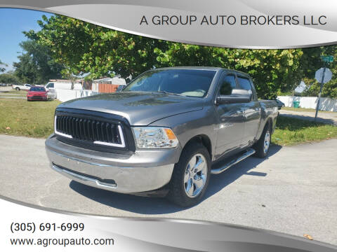 2011 RAM Ram Pickup 1500 for sale at A Group Auto Brokers LLc in Opa-Locka FL