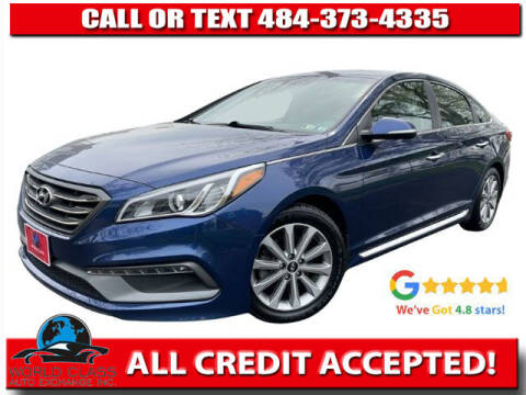 2017 Hyundai Sonata for sale at World Class Auto Exchange in Lansdowne PA