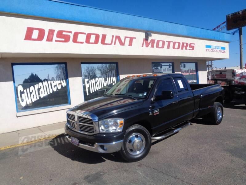 2008 Dodge Ram Pickup 3500 for sale at Discount Motors in Pueblo CO