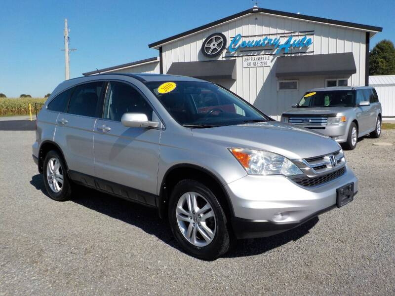 2010 Honda CR-V for sale at Country Auto in Huntsville OH