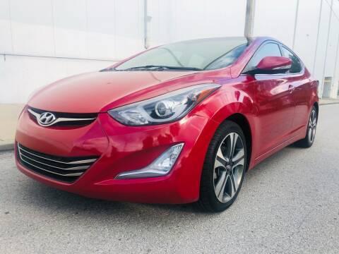 2015 Hyundai Elantra for sale at WALDO MOTORS in Kansas City MO