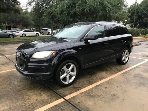 2012 Audi Q7 for sale at Mid-Town Auto in Houston TX