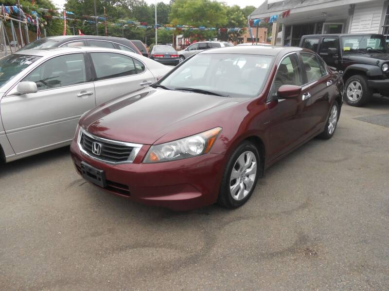 2008 Honda Accord for sale at N H AUTO WHOLESALERS in Roslindale MA