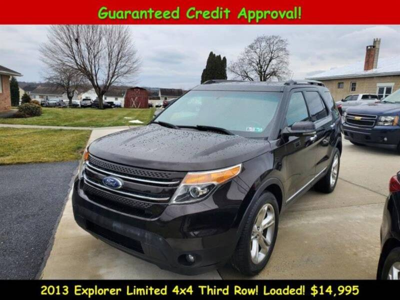 2013 Ford Explorer for sale at Fortnas Used Cars in Jonestown PA