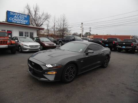 2018 Ford Mustang for sale at Surfside Auto Company in Norfolk VA