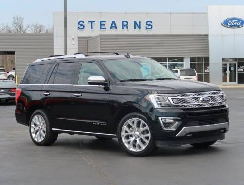2018 Ford Expedition for sale at Stearns Ford in Burlington NC