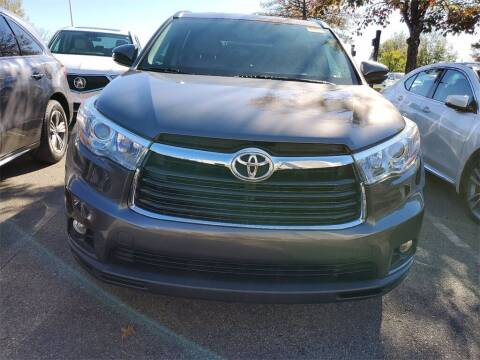 2016 Toyota Highlander for sale at Southern Auto Solutions - Georgia Car Finder - Southern Auto Solutions - Acura Carland in Marietta GA