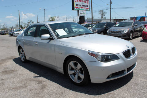 2008 BMW 5 Series for sale at Jamrock Auto Sales of Panama City in Panama City FL