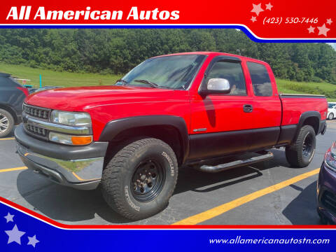 2000 Chevrolet Silverado 1500 for sale at All American Autos in Kingsport TN