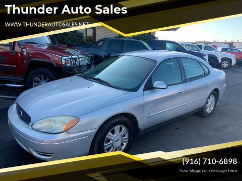 2007 Ford Taurus for sale at Thunder Auto Sales in Sacramento CA