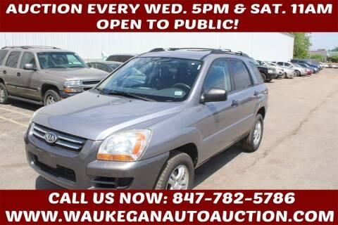 2008 Kia Sportage for sale at Waukegan Auto Auction in Waukegan IL