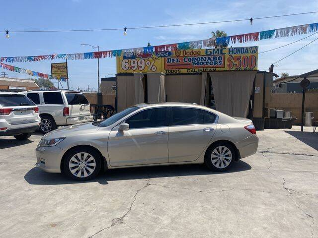 2014 Honda Accord for sale at DEL CORONADO MOTORS in Phoenix AZ